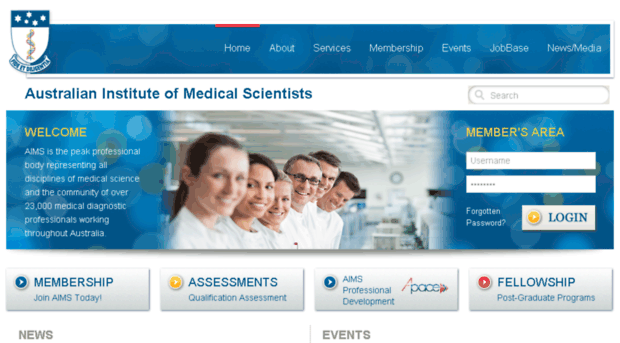 New IFBLS Member - The Australian Institute of Medical Scientists (AIMS)